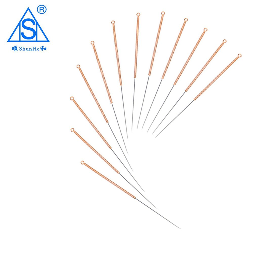 Copper Handle Acupuncture Needle without Tube Dialysis Paper Package 100pcs/box