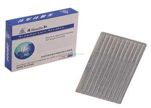 Silver Plated Handle Acupuncture Needles without Tube