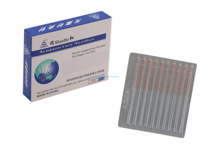 Copper Handle Acupuncture Needles without Tube(Aluminum Foil Needle)